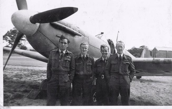1942 06 Rednal George Garnham, Fred Turner, Jimmie Dow & Ralph Kennedy
